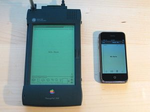 apple newton vs iphone